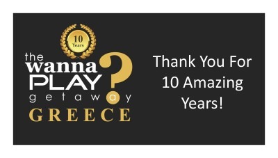 Wanna Play Getaway 2018 - Greece